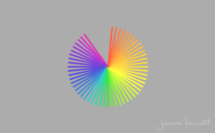 Still of color wheel clock GIF